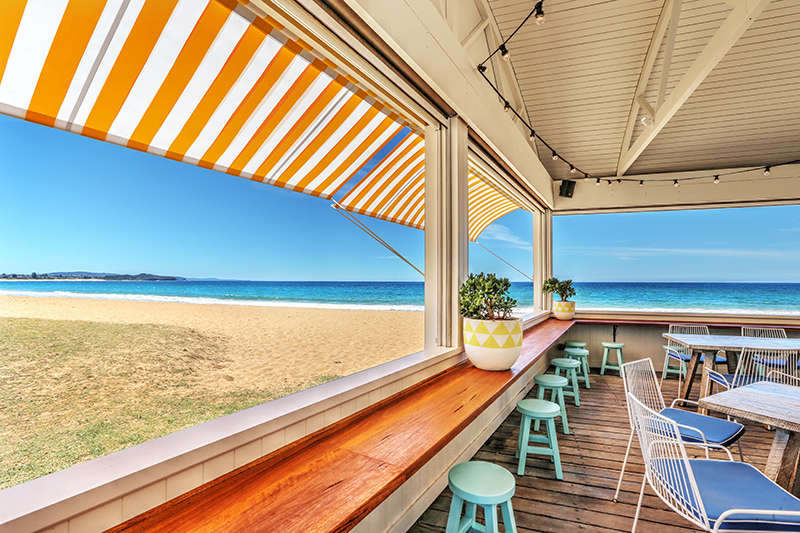 Pelican Pavilion The Collaroy Hotel Cafe Breakfast Lunch Beachside Cafe