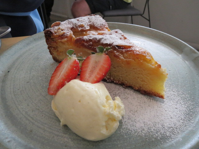 Pony and Cole Cafe, Pear and Almond Cake, Adelaide