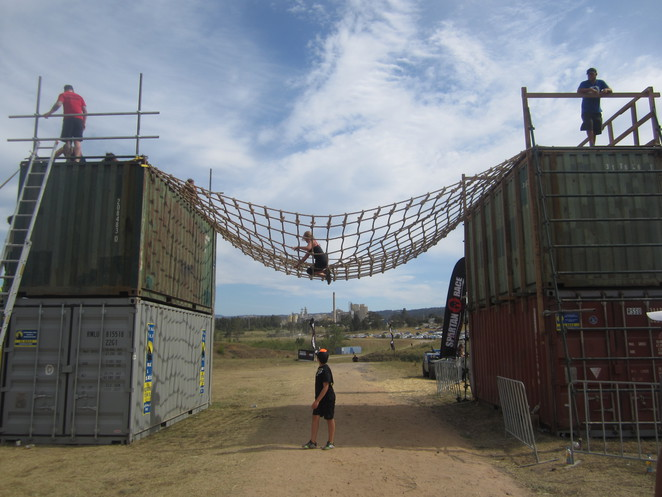Spartan Beast 21km obstacle course