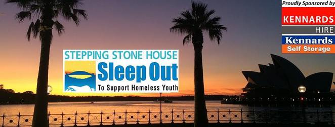 Stepping Stone House Sleep Out, Harbour Sleep Out,
