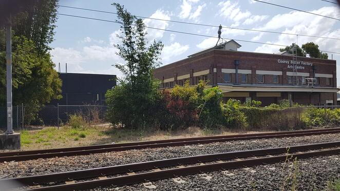 Sunshine coast Open house 2019,Cooroy Butter Factory from the rail line