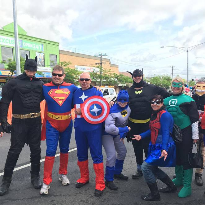 Super Hero Day Out