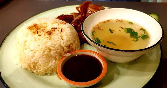 Sydney, lunch, cheap, chicken, Malaysian, Asian, casual, relaxed