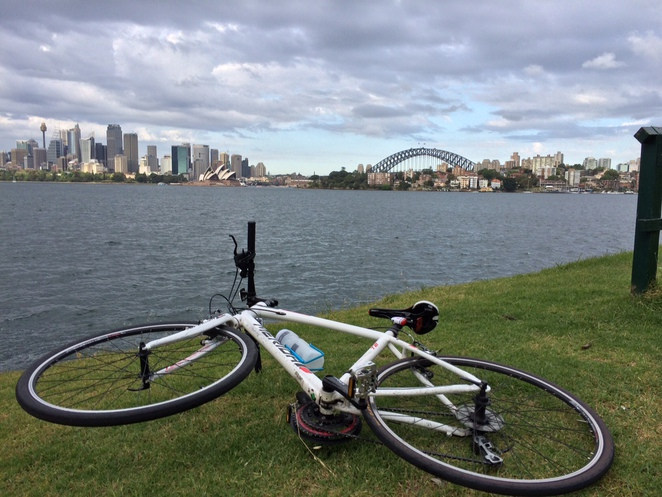 Sydney North Shore Bike Cycle Robertson Point Lookout View