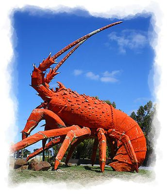 the big lobster, australia's big things