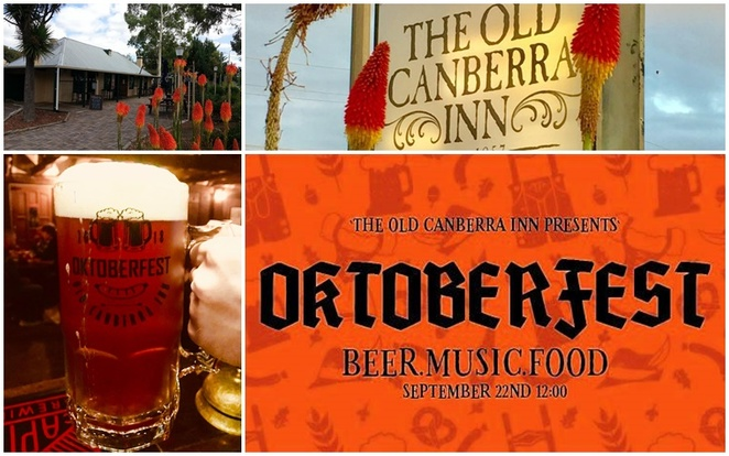 the old canberra inn, okterberfest, canberra, october, 2018, beer events, whats on, octoberfest, old canberra inn pub, best pubs, german beer, ACT, historical pubs, music