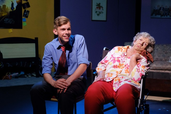 theatre, depot theatre, tunks productions, wayne tunks, performance, review