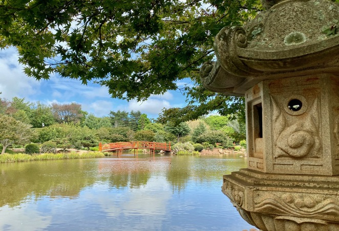 Culture in a peaceful environment at the Japanese Gardens