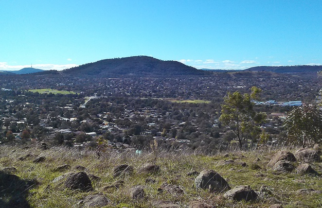 urambi hills nature park, canberra, ACT, walking, dog walking, bushwalking, views, lookouts,