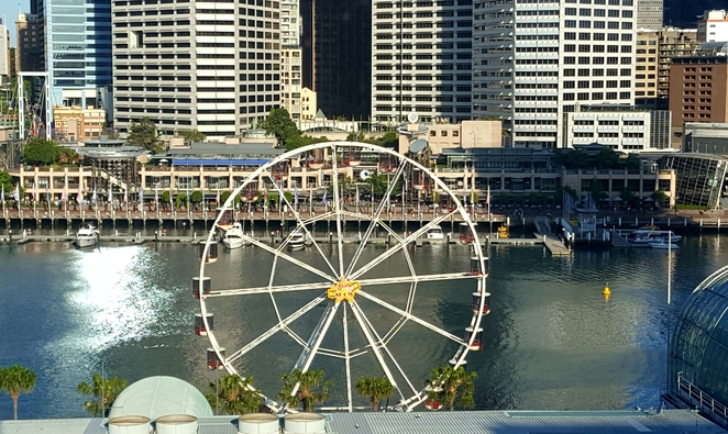 View, Darling Harbour, city