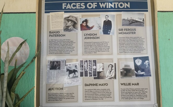 Winton, history, outback, Queensland, quirky