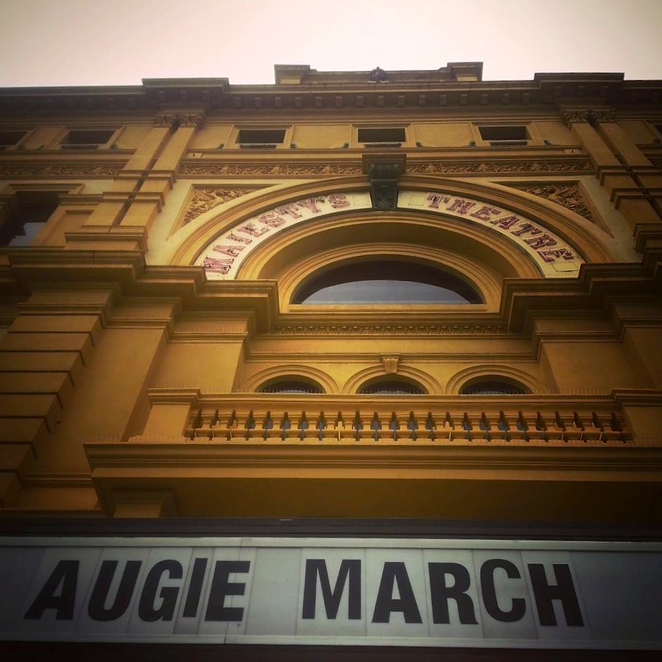 Augie March at Her Majesty's Theatre
