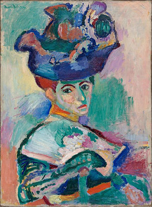 Woman with Hat by Henri Matisse