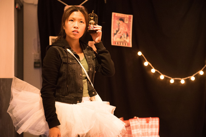 Adelaide Fringe, Smoking with Grandma, performance, SA, Adelaide, Hong Kong, drama, play, refugee, Bakehouse Theatre, emotional, fiction, nonfiction, production