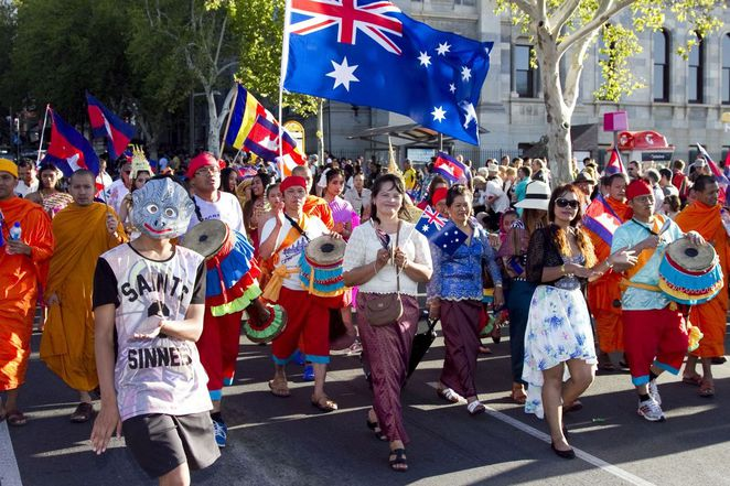 australia day, australia day 2017, australia day celebrations, australia day in the city, in adelaide, elder park, australia day parade, australia day concert, australia day fireworks, free parade