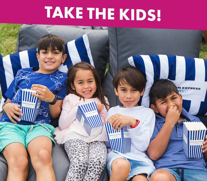 Canberra Openair Cinema, american express, kids, school holidays, canberra, ACT, whats on, things to do, nightlife, children, summer, 2019, 2020, ACT,