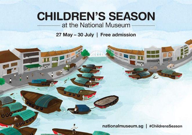 Children's Season at the National Museum, Summer 2017 school holiday, National Museum of Singapore, Orchard Road, Singapore museum, The Little singapore Book