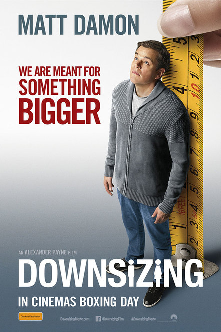 Downsizing movie,