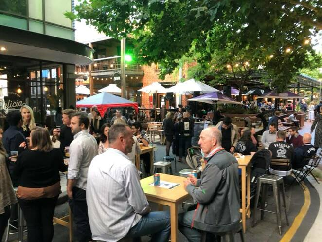Ebenezer night market, Ebenezer place, Adelaide, pubs, cafes, restaurants, jewellery, clothes, candles, pottery, flowers, food, art, household items