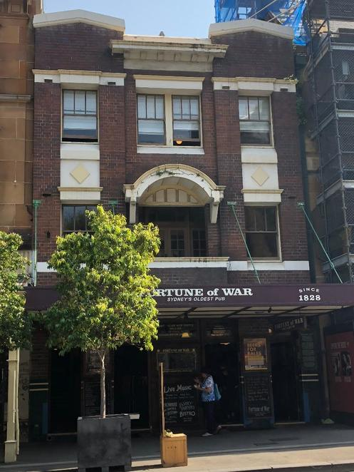 Fortune of War Pub, Sydney's Oldest Pub, The Rocks