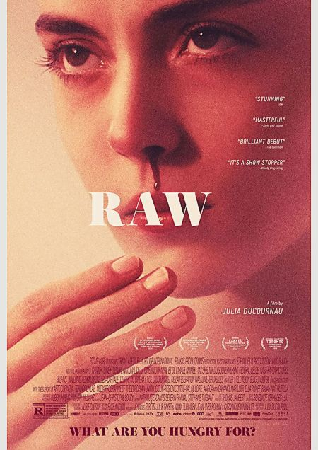 French, Julia Ducournau, Cannes Film Festival, FIRPRESCI, Raw, horror, realism, blood, cult, vampires, veterinarians, Dracula.