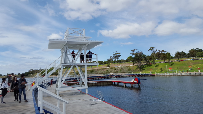 Diving Board, Outer Pool, Eastern Beach
