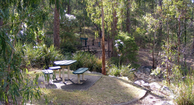 Gold Mine Picnic Area at Mt Coot-tha