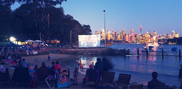 greenwich baths, valentines day, outdoor movies