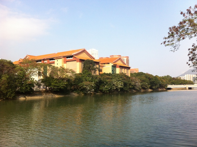Hong Kong Heritage Museum-architectural building