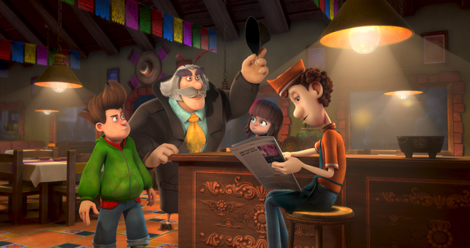 Humour, comedy, animation, family, cinema, review