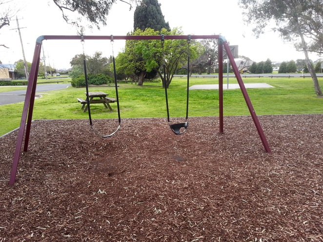 JF Field Playground, Marshall Reserve, Marshalltown road, Geelong, swings, Swing set