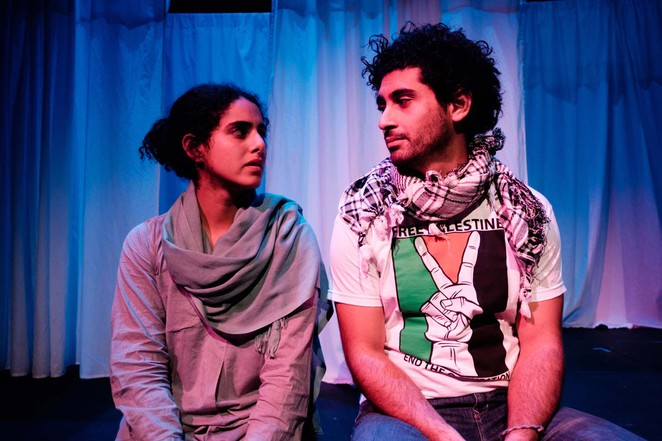 Jomana and Rami, Bakehouse theatre, drama, Gaza, tales of a city by the sea