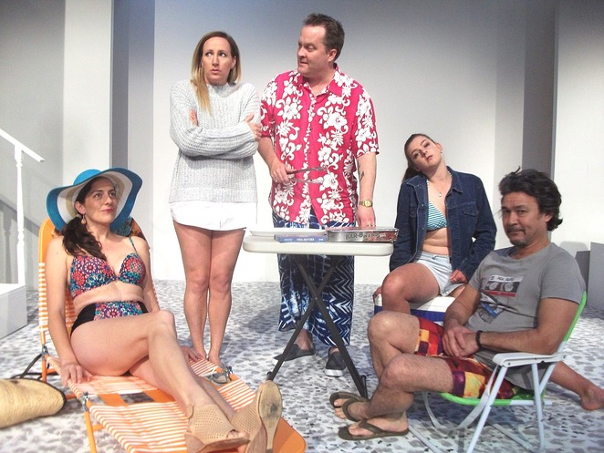 Jumpy, Melville Theatre, comedy, play, performing arts, humour, April de Angelis, funny, drama