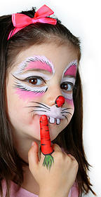 little party faces, hire kids party entertainers