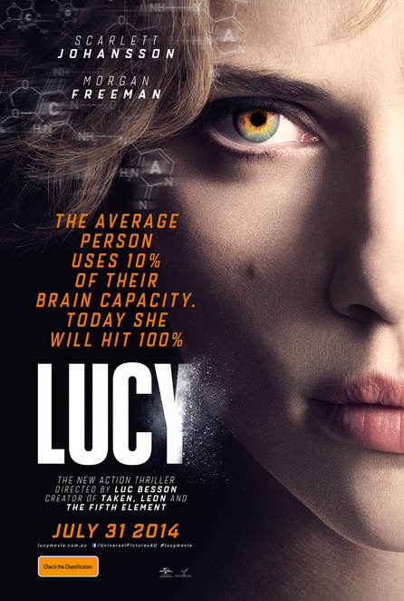 Lucy, film review, movie review, scarlett johansson, morgan freeman, sci-fi
