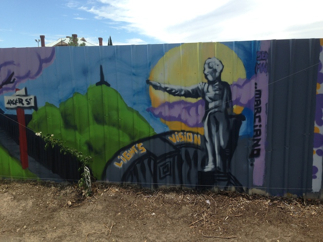 Marciano Arentez, Mural, North Adelaide, Street art