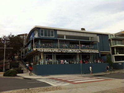 Outside North Bondi RSL