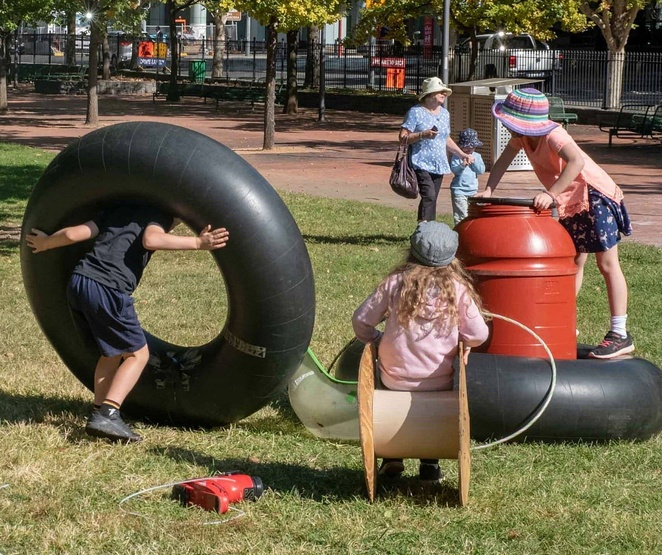 playful endevour, city renewal authority, spring, october, 2019, school holiday activities, whats on, free, glebe park, ACT, canberra,