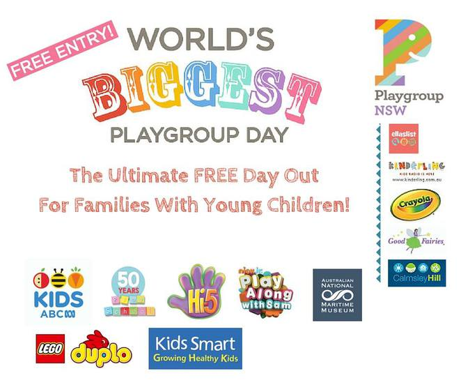 Playgroup NSW, World's Biggest Playgroup Day, Playgroup