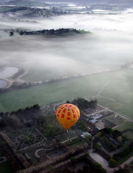 Rainbow, Hot Air Ballooning, Wineries, Sunrise, Global Ballooning, Melbourne, Eastern Suburbs,