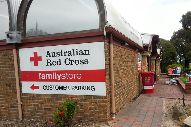 Red Cross, seconds, second hand, clothing, books, furniture, shoes, handbags, jewellery, gifts, games, blackwood, pre-loved