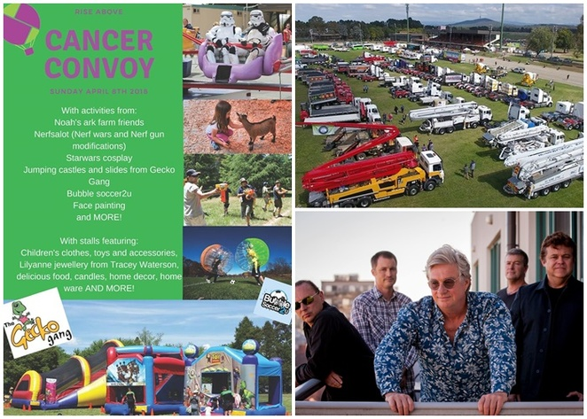 rise abive cancer convoy, canberra, ACT, events, april, 2018, kids, children, families, family friendly, trucks,