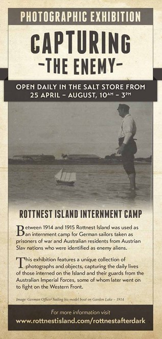 Rottnest Island WWI exhibition