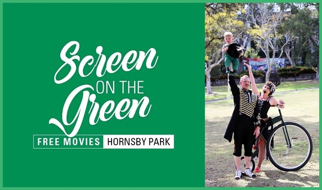 Screen on the Green, free movies, Hornsby Park