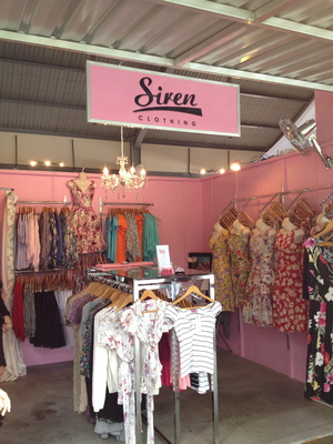 Siren Clothing Stall