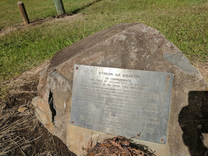 Stinson Park plaque