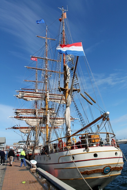 tall ships, dutch tall ships, tall ship, Oosterschelde, tecla, europa, international fleet review, royal australian navy, sailing, port adelaide