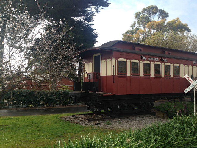 The Almond Train, Mclaren Vale attractions, things to do in Adelaide, local produce Adelaide, almonds Adelaide, historic places Adelaide