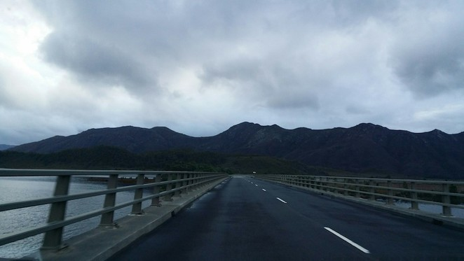 The drive to Strahan