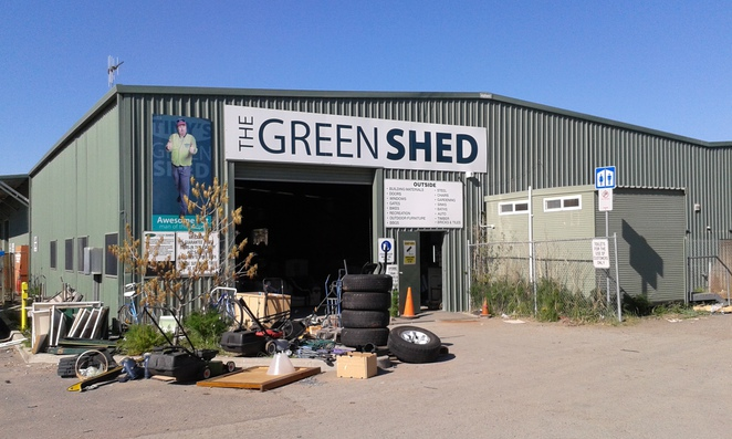 The Green Shed, Symonston, Canberra, second hand goods, ACT, the tip shop
